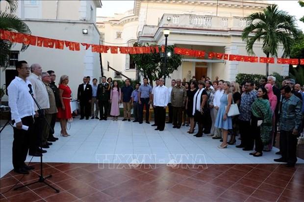 越南国庆73周年:越南经济社会发展成就获国际友人高度评价 hinh anh 1