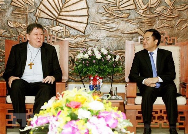 越南与梵蒂冈加强宗教领域的合作 hinh anh 1