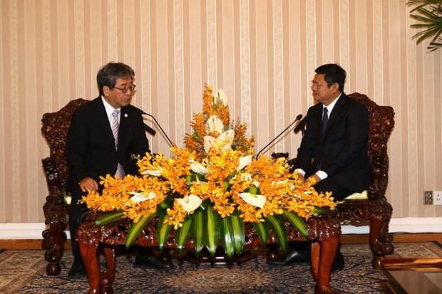 胡志明市与日本大阪市进一步加强环境领域的合作 hinh anh 1