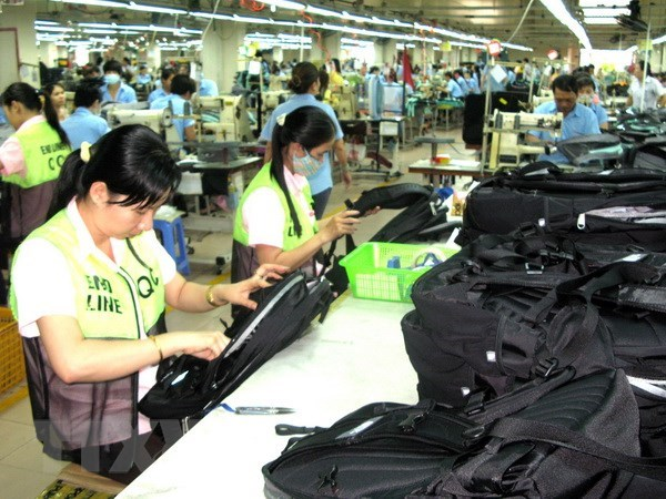 2018年前8月同奈省贸易顺差额占全国的64% hinh anh 1