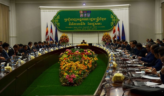 柬埔寨新政府优先维护和平与发展 hinh anh 1