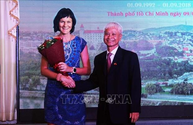 庆祝斯洛伐克国庆活动在胡志明市举行 hinh anh 1