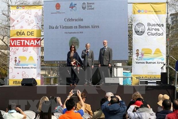 越南日活动在阿根廷举行 hinh anh 2