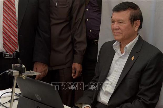 柬埔寨释放前反对党领袖根·索卡获准保释 hinh anh 1