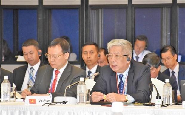越南出席第十届东盟与日本防卫副部长级会议 hinh anh 1