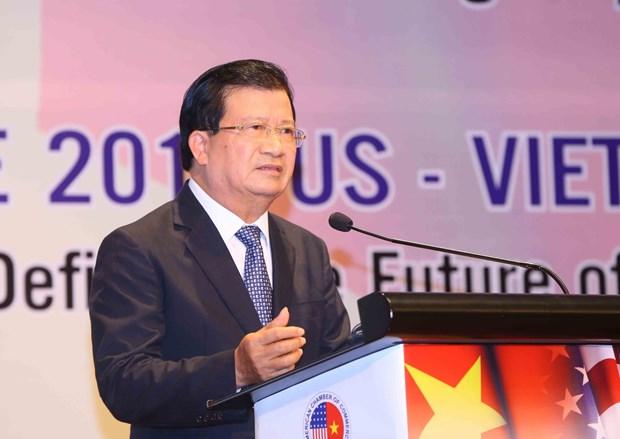 政府副总理郑廷勇:为越美两国企业加强经营与投资对接创造便利条件 hinh anh 1