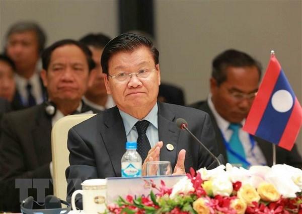 老挝重视在越南举行WEF-ASEAN 2018的意义和重要性 hinh anh 1