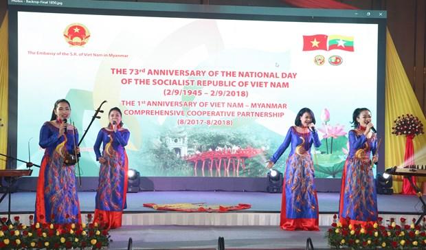 """""""越南色彩""""活动在缅甸举行 hinh anh 1"""