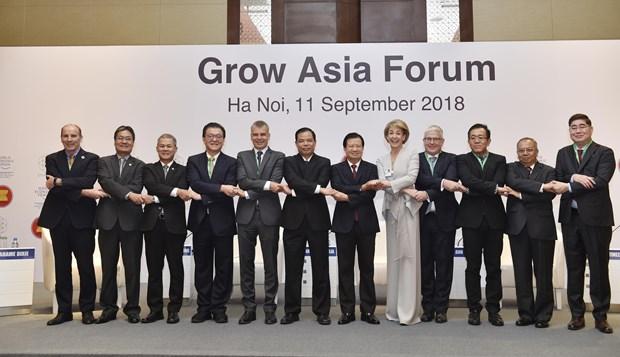 2018年亚洲增长论坛在河内召开 hinh anh 1