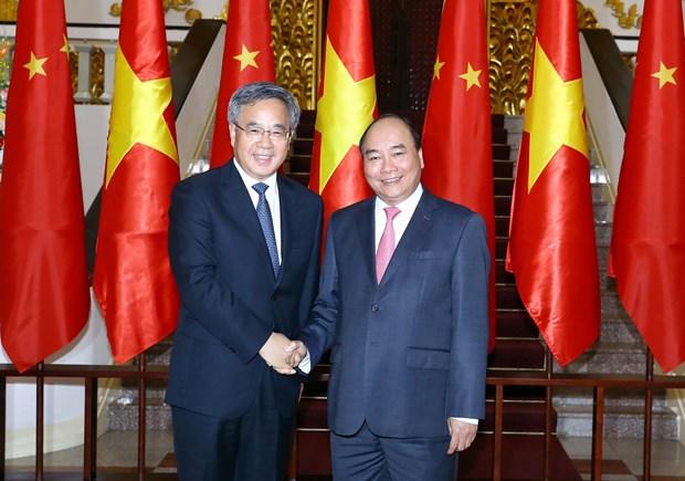 越南希望实现越中双边贸易平衡发展 hinh anh 1