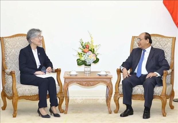 越南政府总理阮春福会见斯里兰卡和韩国客人 hinh anh 2