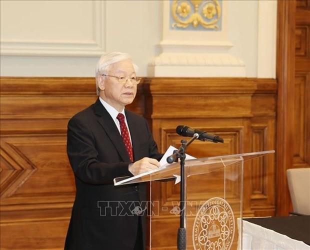 越共中央总书记阮富仲访问俄罗斯和匈牙利两国有助于推动越南与两国关系迈上新台阶 hinh anh 1