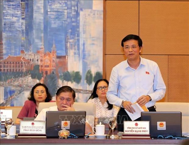 国会常委会第二十七次会议:国会第六次会议将批准任命信息传媒部部长职务 hinh anh 2