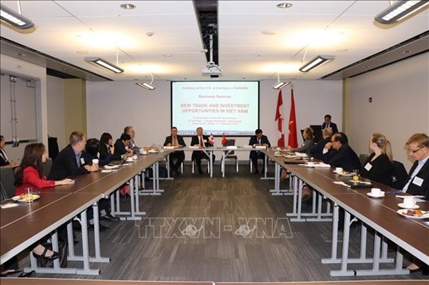 """""""越南新的投资和贸易机遇""""座谈会在加拿大举行 hinh anh 1"""