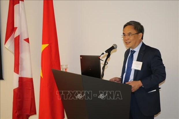 """""""越南新的投资和贸易机遇""""座谈会在加拿大举行 hinh anh 2"""