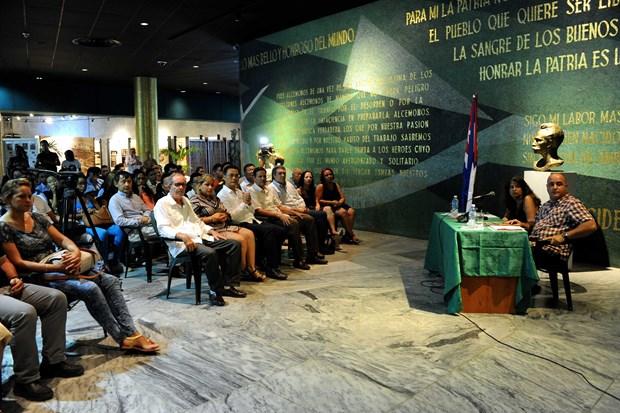 古巴领袖菲德尔•卡斯特罗领袖访问越南45周年纪念活动纷纷在古巴举行 hinh anh 1