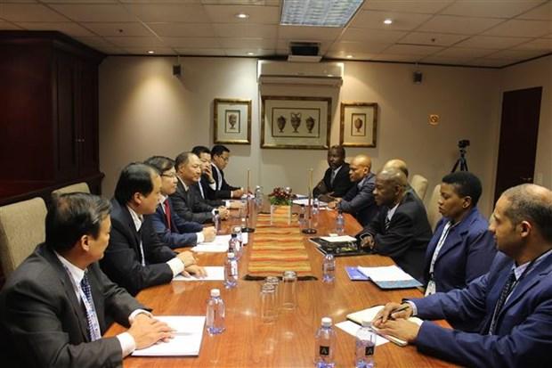越南与南非签署合作备忘录 加强打击罪犯领域合作 hinh anh 1