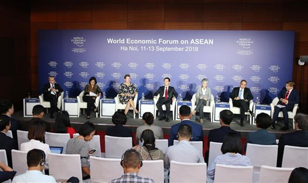2018 WEF ASEAN:为促进东盟发展提出新设想新意见 hinh anh 1