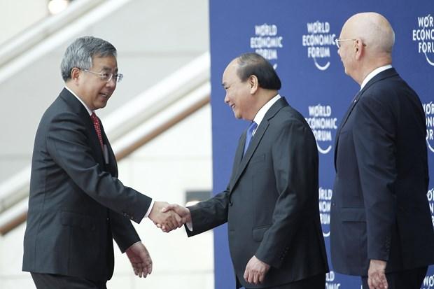 WEF ASEAN 2018: 2018年世界经济论坛东盟峰会在河内开幕 hinh anh 3