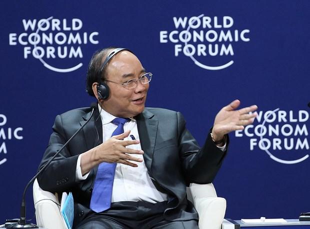 """WEF ASEAN 2018: 政府总理阮春福出席""""湄公地区新愿景""""讨论会 hinh anh 2"""