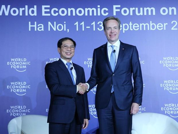 WEF ASEAN2018: 2018年世界经济论坛东盟峰会圆满成功 hinh anh 1