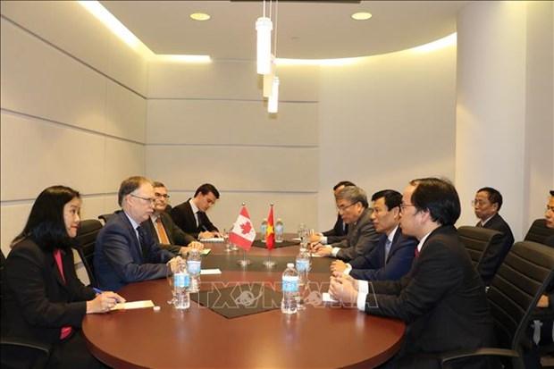 越南与加拿大深化文体合作 hinh anh 1