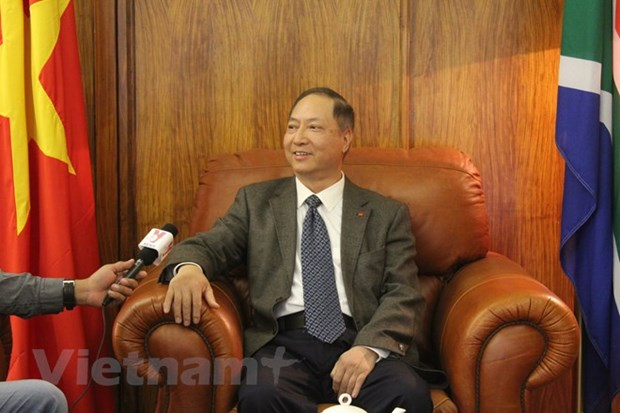 越南驻南非大使:越南与非洲关系发展余地仍然较大 hinh anh 1