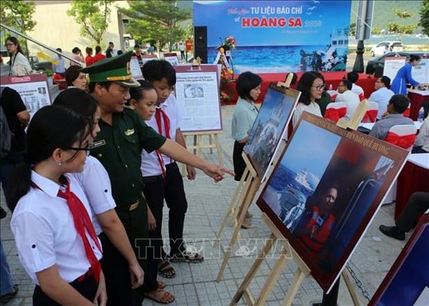 """2018年""""有关黄沙的新闻资料""""展览会在岘港市开幕 hinh anh 2"""