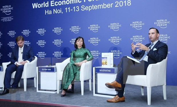 WEF-ASEAN 2018:东盟继续促进人类发展和提升技术能力 hinh anh 1
