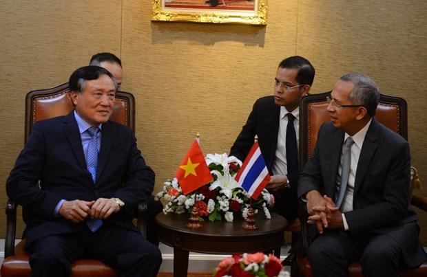 越泰两国深化最高人民法院交流与合作 hinh anh 1