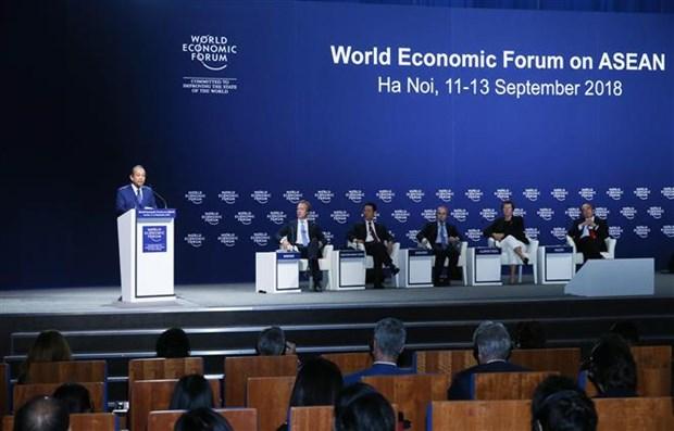 2018年世界经济论坛东盟峰会圆满落幕 hinh anh 1