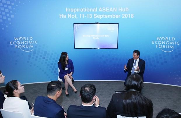 WEF-ASEAN 2018:东盟致力于确保道路交通安全 hinh anh 1
