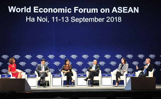亚洲经济未来论坛对中美贸易争端表示担忧 hinh anh 1