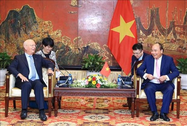 世界经济论坛创始人兼执行主席克劳斯:在越南举行的世界经济论坛东盟峰会是WEF最成功的区域性会议 hinh anh 2