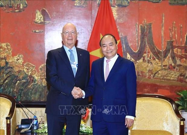 世界经济论坛创始人兼执行主席克劳斯:在越南举行的世界经济论坛东盟峰会是WEF最成功的区域性会议 hinh anh 1