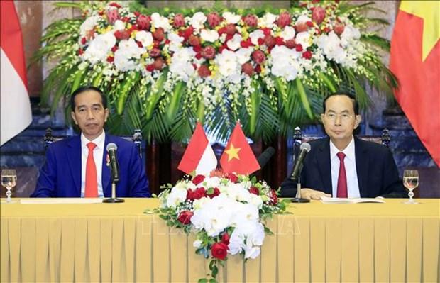 印尼总统佐科·维多多访越引印尼媒体积极关注 hinh anh 1