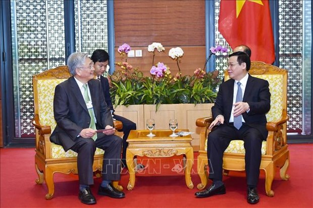 WEF ASEAN 2018:多家大型集团愿意支持越南满足数字经济标准 hinh anh 1
