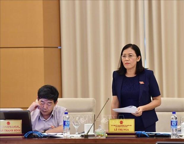越南国会常委会第27次会议:确保法律体系的稳定性和统一性 hinh anh 1