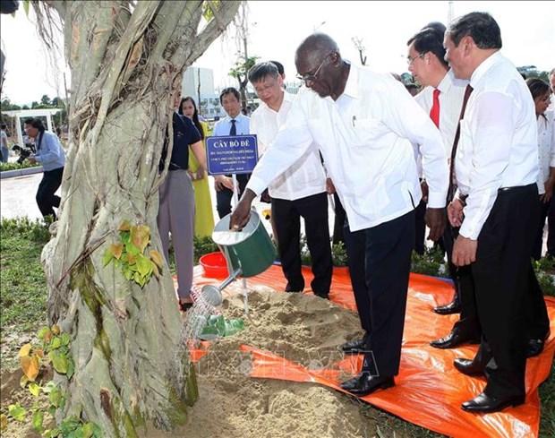 菲德尔公园在广治省揭牌成立 hinh anh 2
