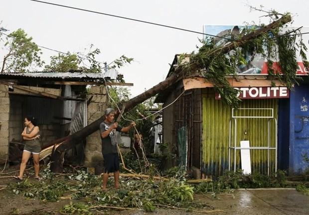 """超强台风""""山竹""""登陆菲律宾 至少三人死亡四人受伤 hinh anh 1"""