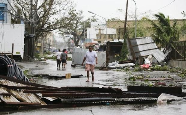 """超强台风""""山竹""""登陆菲律宾 至少三人死亡四人受伤 hinh anh 2"""