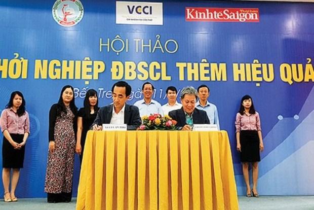 越南九龙江平原努力促进可持续创业 hinh anh 2