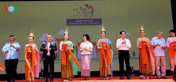 2018年第十次泰国文化节向首都居民推介泰国特色文化 hinh anh 1