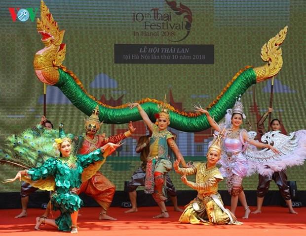 2018年第十次泰国文化节向首都居民推介泰国特色文化 hinh anh 2