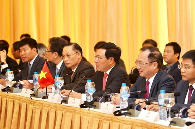 越中双边合作指导委员会第11次会议在胡志明市举行 hinh anh 1