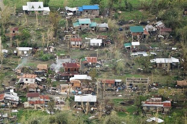 """受台风""""山竹""""影响菲律宾至少25人死亡 澳门首次关闭全部赌场 hinh anh 1"""
