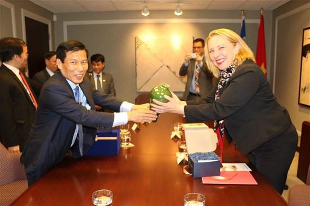 进一步加强越南和加拿大魁北克省的合作 hinh anh 1