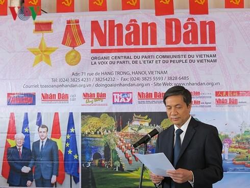 越南《人民报》参加2018年法国《人道报》节 hinh anh 1