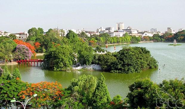 越南首都河内参加世界领先城市目的地奖的竞选 hinh anh 1