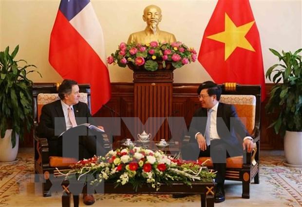 越南领导人向智利共和国领导致贺电 hinh anh 1